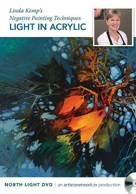 Linda Kemp's Negative Painting Techniques: Light in Acrylic Video Download