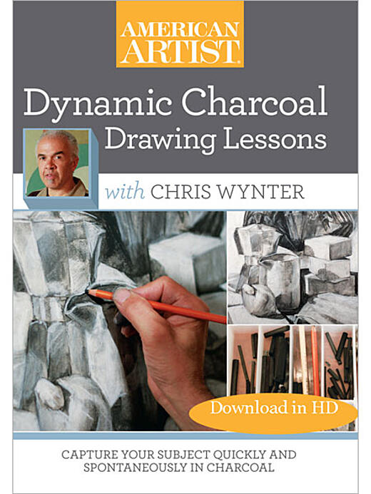 Dynamic Charcoal Drawing Lessons with Chris Wynter