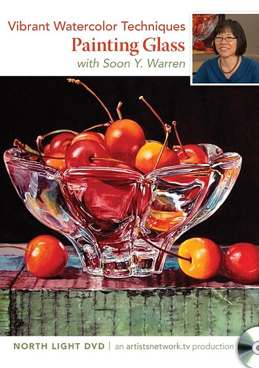 Vibrant Watercolor Techniques: Painting Glass with Soon Warren Video Download